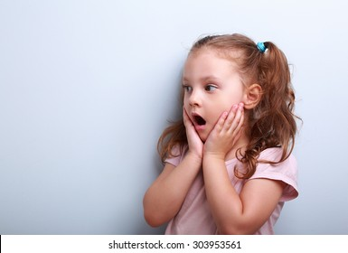 4873d8370 Shocked Little Girl Images, Stock Photos & Vectors | Shutterstock