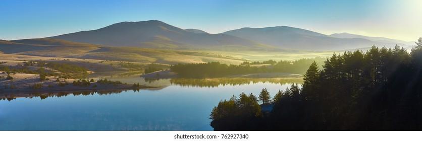 Surreal beauty of nature near Zlatibor