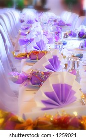 Surreal table setting
