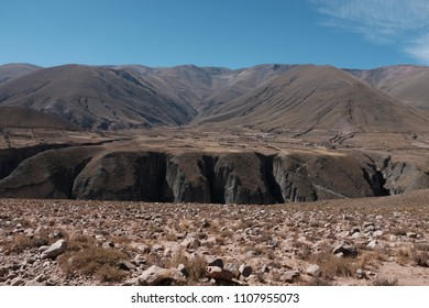 Surrounded by mountains, Salta, Argentina