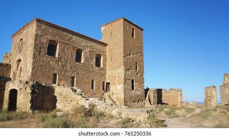 Surrounding buildings of Castillo de Montearagon