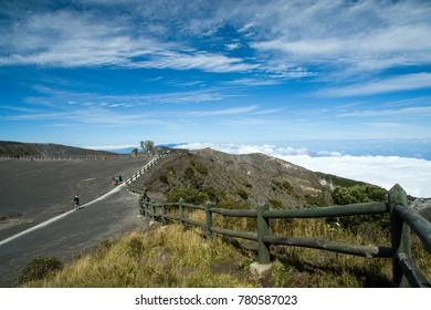 Surroundings of the Irazu volcano crater, Irazu Volcano National Park, Costa Rica