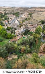 the surroundings of Segovia, Spain