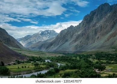 Suru River Valley, Kargil district, Ladakh region, India.