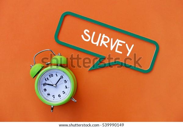 Survey, Business Concept