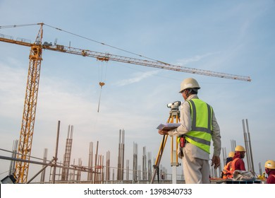 Survey Engineer at construction sitte