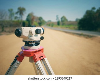 Surveying camera for construction