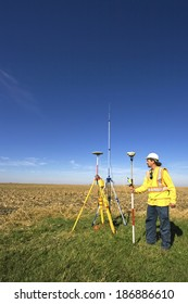 Surveyor and GPS unit