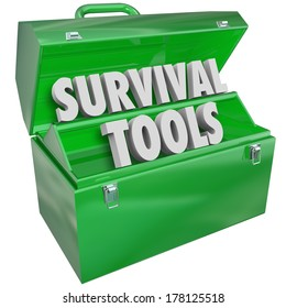 Survival Tools Green Toolbox Learn Skills Tips Survive