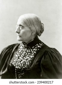 Susan B. Anthony (1820-1906), in 1890s.