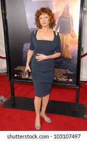"Susan Sarandon at the Los Angeles Premiere of ""The Lovely Bones,"" Chinese Theater, Hollywood, CA. 12-07-09"