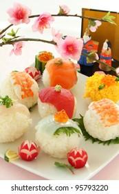 Sushi Balls for Doll's Festival