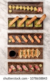 Sushi Bar with Eggrolls