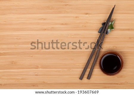 「Sushi Chopsticks Soy Sauce Bowl Over」の写真素材(今すぐ編集 ...