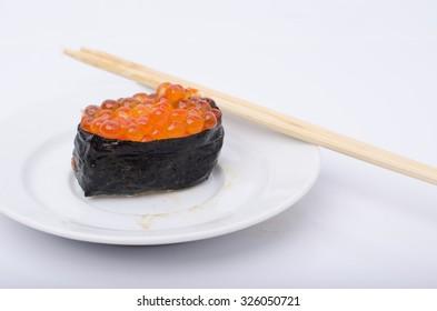 sushi isolated on a white background
