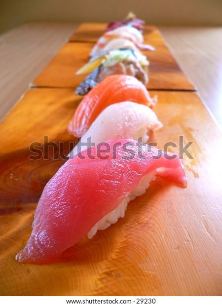 Sushi, a Japanese favourite.