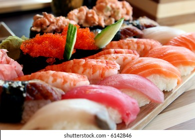 Sushi It is possible to use as a background