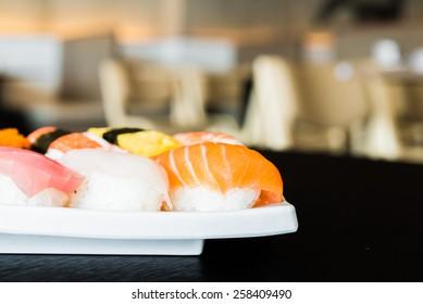 Sushi roll - japanese food