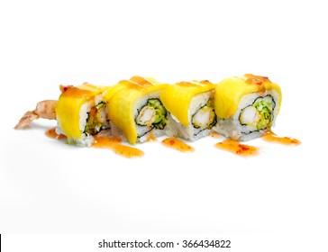 sushi rolls  avocado