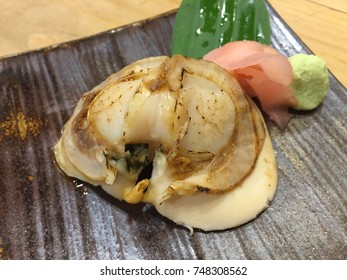Sushi Shell Roast with fire