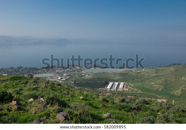 Susita (Hippos) Ruins, Sea of Galilee, the Golan Heights, Israel