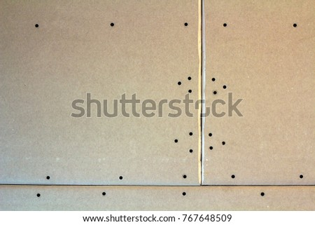 Suspended Ceiling Drywall Fixed Metal Frame Stock Photo (Edit Now ...