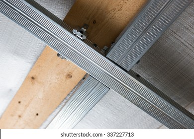 Suspended ceiling structure