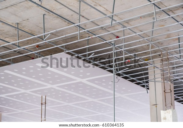 Suspended Ceiling Structure Installation Ceiling Gypsum