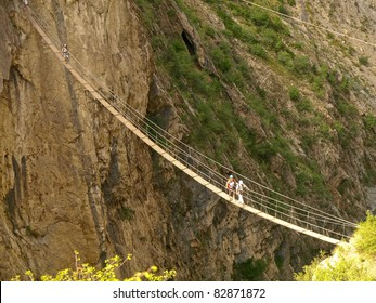 suspensed bridge