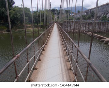 Suspension Bridge in malampuzha dam kerala