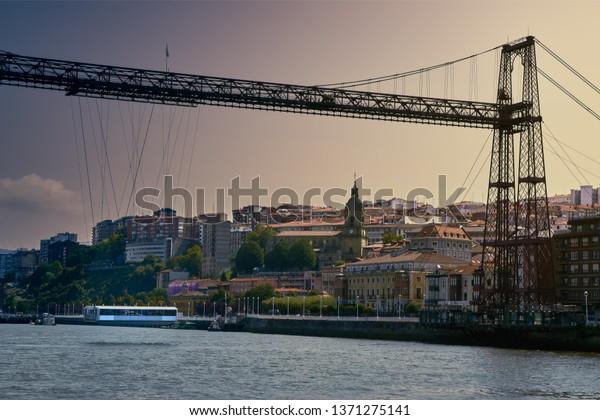 Suspension bridge, Portugalete