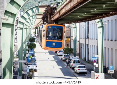 suspension railway in wuppertal