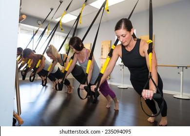 Suspension training class