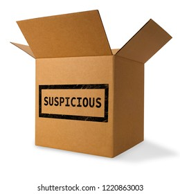 Suspicious and possibly dangerous package