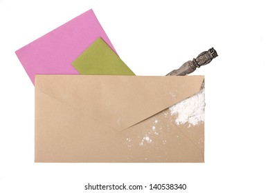 Suspicious Unmarked Envelope with Ricin