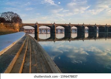 Susquehanna River in Harrisburg, Pennsylvania.