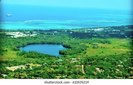 Susupe Lake, Saipan Susupe Lake in Chalan Kanoa village, Saipan,Northern Mariana Islands