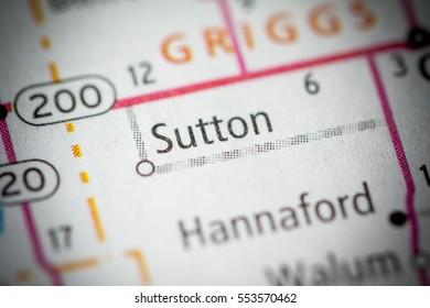 Sutton. North Dakota. USA