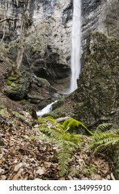 Suvcharsko Praskalo - one of the most powerful and most beautiful waterfalls in the Balkan Mountains