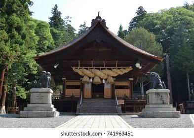 Suwa Taisha in Japan,Nagano