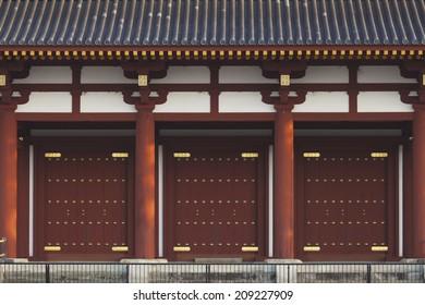 Suzaku Gate Of Nara Palace Site