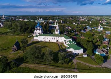Suzdal Kremlin, Golden ring Russia.