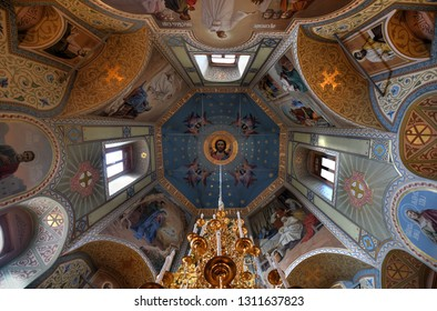 Suzdal, Russia - July 5, 2018: Church of Dormition of the Theotokos in Suzdal, Russia