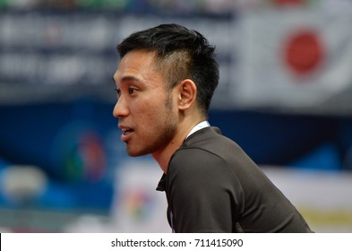 SUZUKI RYUJI head coach of JAPAN during AFC U20 FUTSAL CHAMPIONSHIP 2017 match IRAQ and JAPAN at Bangkok Arena Stadium on May22,2017 in Bangkok,Thailand.