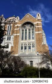 Suzzallo library at the university of Washington in Seattle, Washington state, USA
