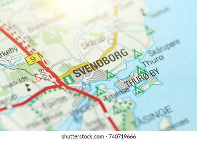 Svendborg. Kongeriget Danmark.