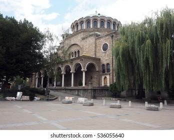 Sveta Nedelya Church in Sofia Bulgaria Europe
