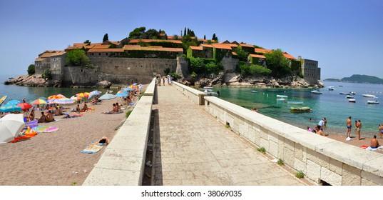 Sveti Stefan Panorama Montenegro