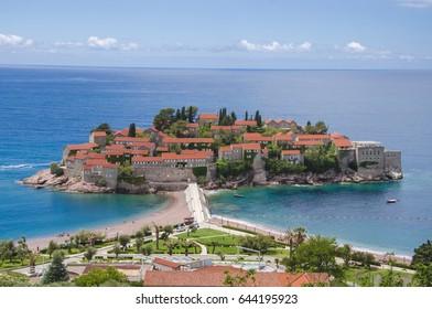 Sveti Stefan peninsula