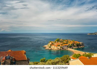 Sveti Stefan is a small islet and 5-star hotel resort on the Adriatic coast of Montenegro Not far from Budva.